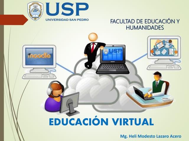 Clase2: Educacion virtual