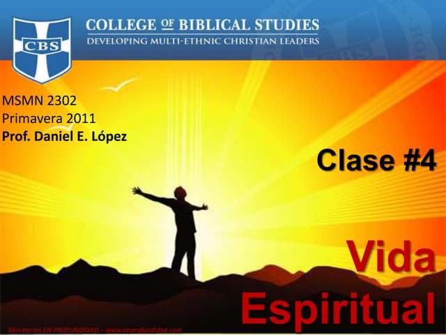 Clase 4   antropologia biblica, espiritu santo
