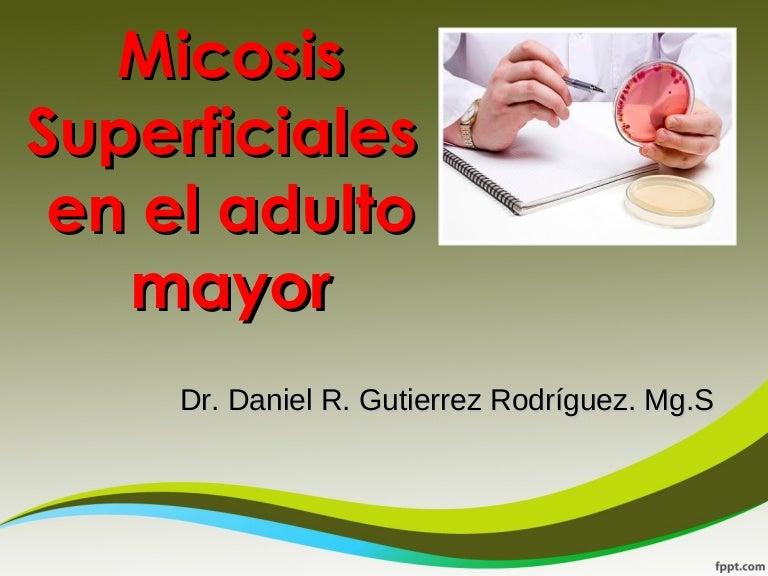 Clase de micosis superficiales