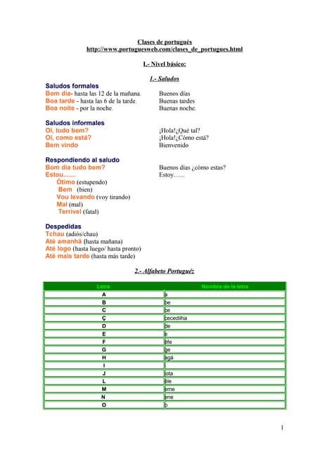 Clases de-portugues