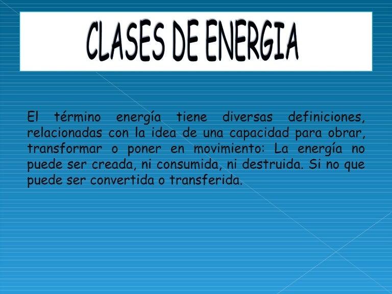 Clases de energia for Lecciones de castorama de bricolaje