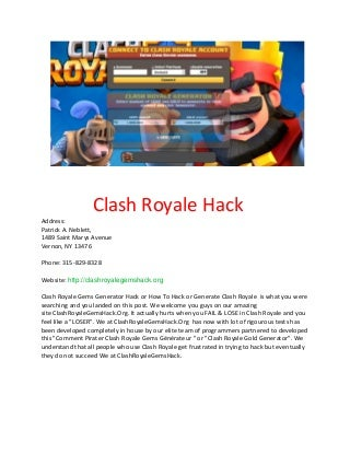 clash royale hack no survey