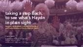 Taking a step Bach to find what's Haydn in plain sight: lessons on problem-solving, inclusivity, and empowerment from classical music