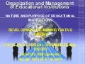 Classical organizational theory(scientific management)