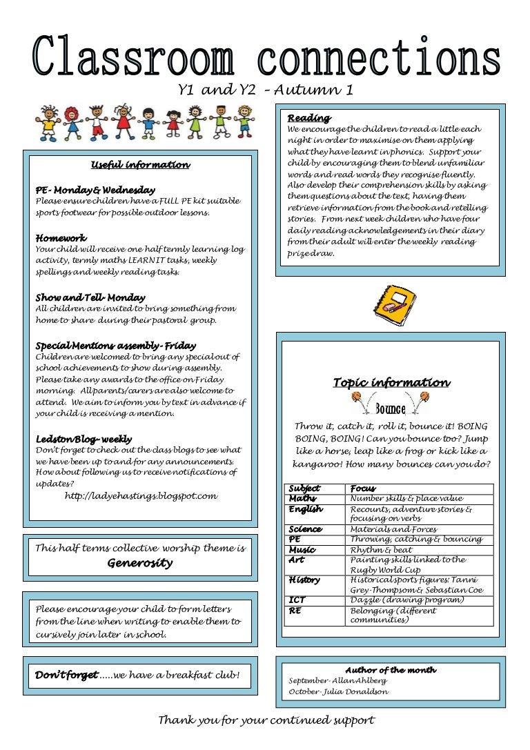 Classroom communications keystage 1 a1