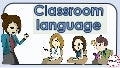 Classroom language : English Language