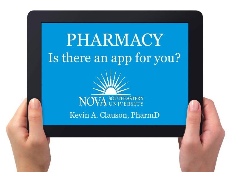 Pharmacy Is There An App For You