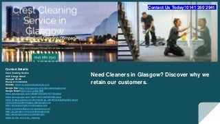 Cleaners Glasgow
