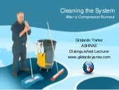 Refrigeration system cleaning