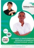 Cleaning & environmental services intermediate apprenticeship