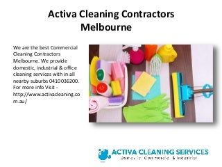 Best Cleaning Services in Melbourne