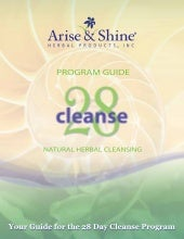 ARISE and SHINE 28 Day Herbal Cleanse