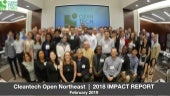 FINAL Cleantech Open Northeast 2018 IMPACT REPORT February 2019