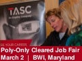 March 2 CI or FS Poly-Only Cleared Job Fair