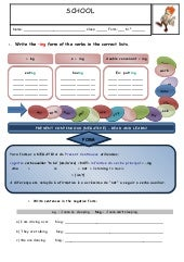 Present Continuous: worksheet