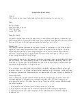 Job Proposal Letter