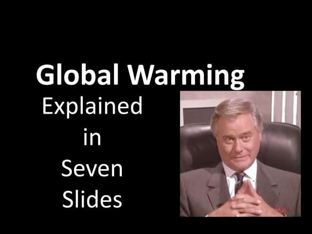 Climate Change in 7 slides