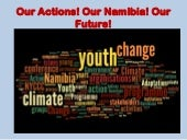 Youth mobilisation on climate change in Namibia