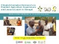 Climate information services for a resilient agriculture in senegal