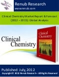 Clinical chemistry market report & forecast (2012 – 2015) global analysis