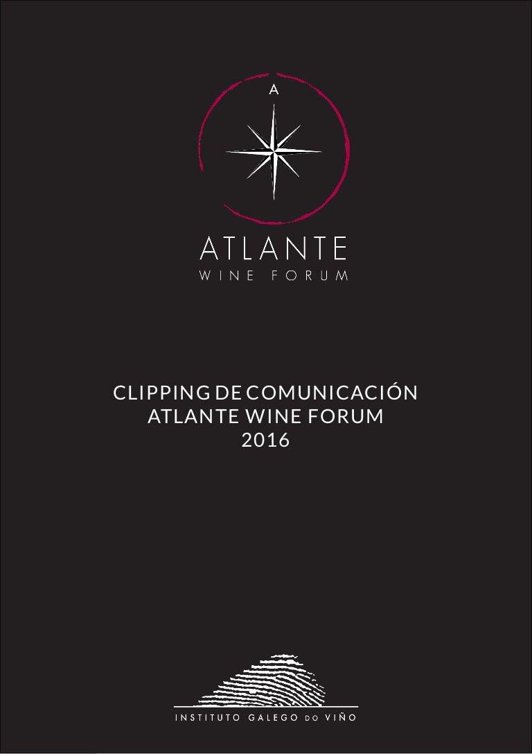 Dossier de comunicación Atlante Wine Forum 2016