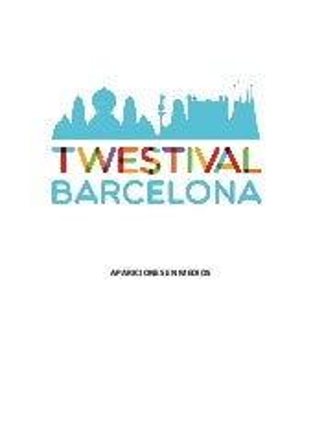 Clipping Twestival Barcelona 2013