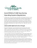 Avoid Pitfalls of CAM Caps During Operating Expense Negotiations