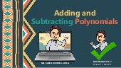 Adding and Subtracting Polynomials - Math 7 Q2W4 LC1