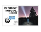 "AEG Presents Chief Listener Bob London: ""How to Grow By Thinking Like a Customer"""
