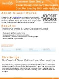 Closet Design Company Decreases Cost Per Lead by 60% with HubSpot