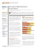 Closing the Big Data Gap in Public Sector