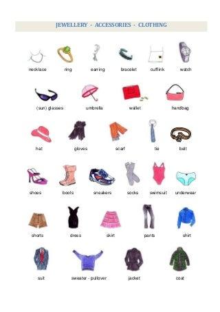 Acessórios de roupa-joalharia
