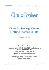 Cloud brokerappcenter gettingstartedguide-1.1.1