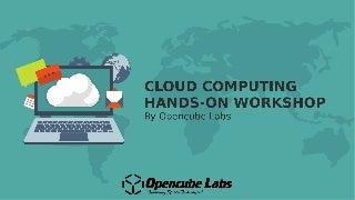 Cloud Computing workshop