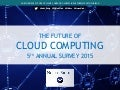 2015 Future of Cloud Computing Study