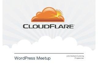 WordPress London Meetup January 2012