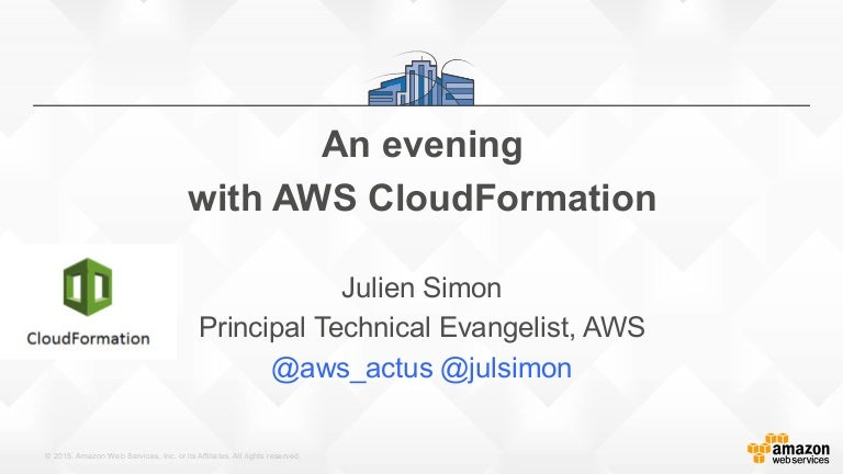AWS CloudFormation (February 2016)
