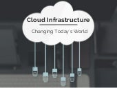 Cloud Infrastructure: Changing Today's World