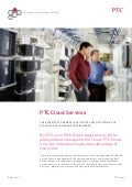 PTC Cloud services datasheet