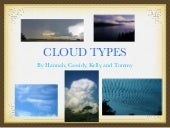 Cloud types 1