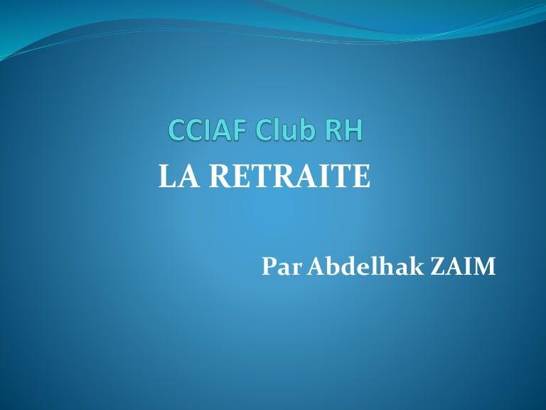 La Retraite En Algerie Version 2017