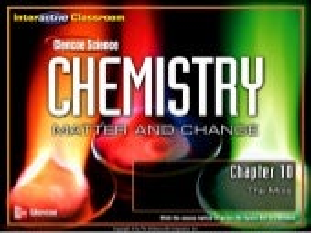 Cmc chapter 10