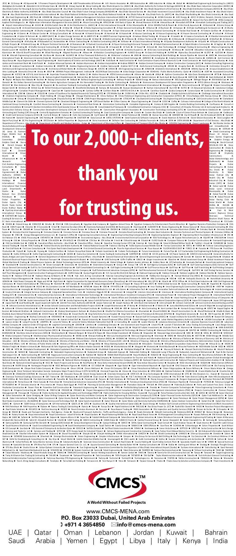 Our 2,000+ Clients
