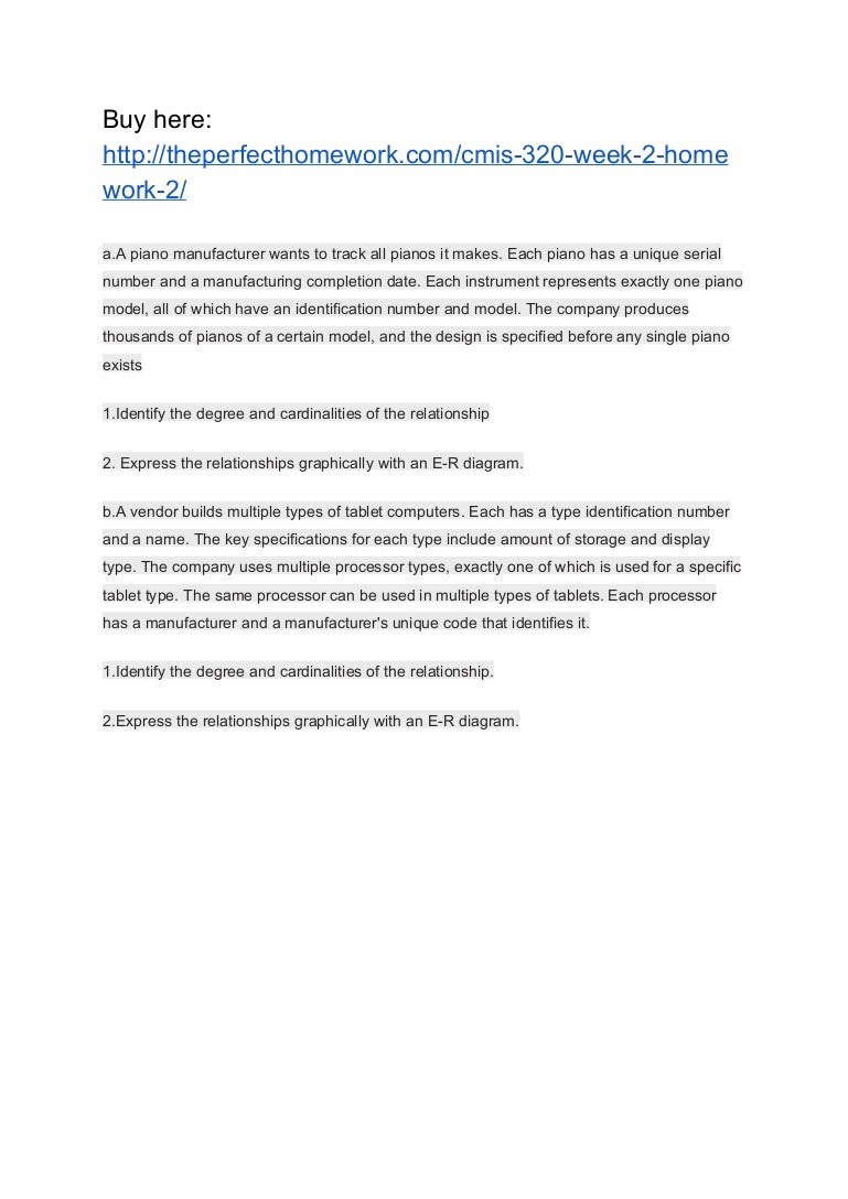 cmis 320 homework 2