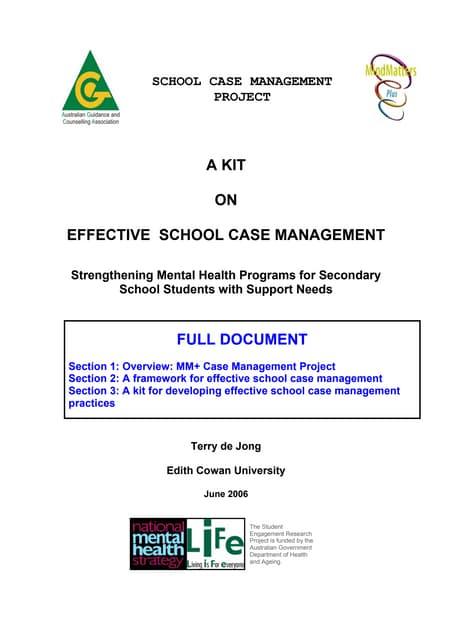 Case Management - AGCA Mind Matters