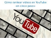 Cómo rankear videos en YouTube en 5 pasos