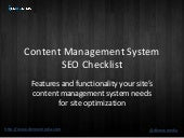 SEO and Content Management System