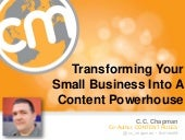 Turning Your Small Business Into a Content Marketing Powerhouse