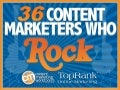 Content Marketing Rocks! 36 Tips from Rock Star Brands & Marketers