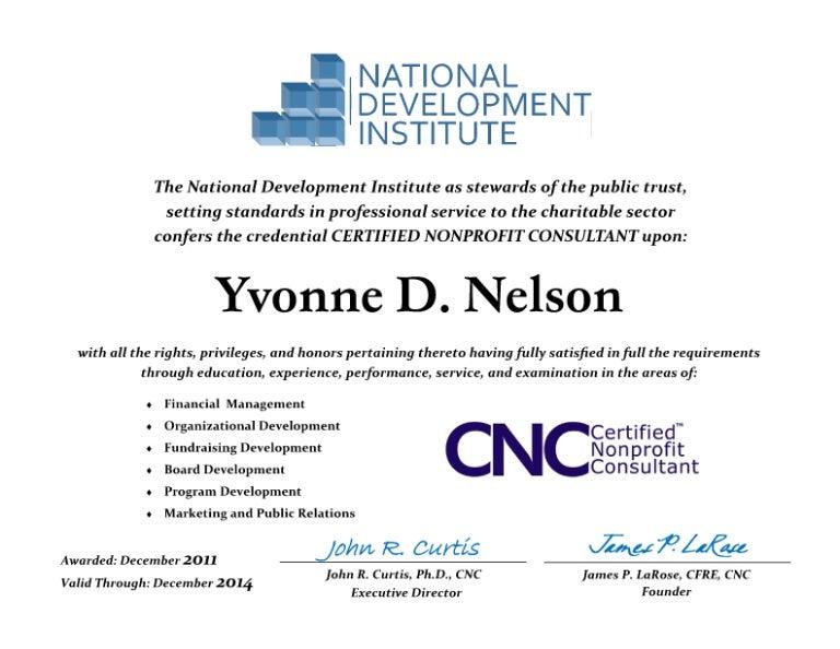 Cnc Certification